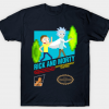 Rick And Morty NES Game T-Shirt