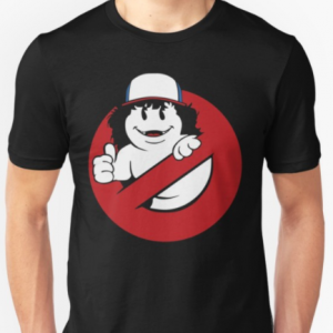 The Stranger Things Dustin Ghostbusters T-Shirt