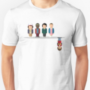 Stranger Things Cartoon Characters T-Shirt